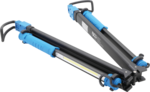 COB-LED-motorkaplamp met accu & expanderhouder 2 COB-LED Werk-handlampen