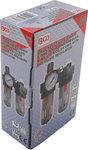 Lucht / olie filter met drukregelknop en manometer