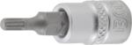 Dopsleutelbit 6,3 mm (1/4) veeltand (voor XZN)