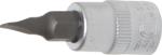 Dopsleutelbit 6,3 mm (1/4) sleuf