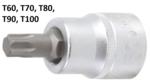 Dopsleutelbit 20 mm (3/4) T-profiel (voor Torx)