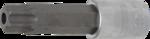 Dopsleutelbit lengte 100 mm (1/2) Torx met gat T80
