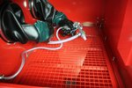 Zandstraalcabine 220 liter