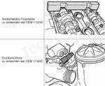 Double Vanos Adjustment Tool Set for BMW M52TU / M54 / M56