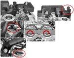Motorafstelset voor BMW 1.6