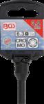 Uitdraai dopsleutel voor gloeibougie elektrode (1/4) 3,2 mm
