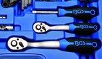 Dopsleutelset zeskant 6,3 mm (1/4) / 10 mm (3/8) inches 92-delig