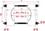 Kogellagertrekker, pers en trek functie 14 delig