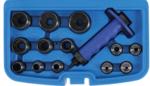 Holpijpen set, 5-35 mm, 14 delig