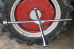 Vrachtwagen kruissleutel vierkant 24 x 27 x 32 x 20 mm (3/4)