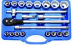 Dop Set, 12-punts | 20 mm (3/4) aandrijving | 21 delig