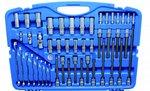Dopsleutelset zeskant 6,3 mm (1/4) / 10 mm (3/8) / 12,5 mm (1/2) 213-delig