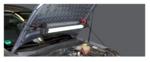 Motorkaplamp met expanderhouder