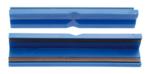 Bankschroef beschermbek kunststof breedte 125 mm 2-delig