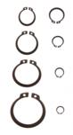 Assortiment borgringen buiten diameter 3 - 32 mm 300-delig