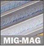 Inverter lasapparaat mig-mag-flux 150 a - 1,2 mm