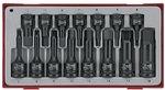 Slagdoppenset 1/2 & 3/8 tx-tc-tray 15dlg