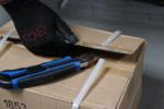 Afbreekmessen extra zware uitvoering mesbreedte 25 mm