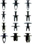 Assortiment, bekledings clips Sortiment voor Mazda, Honda, Ford, Nissan & VW, 240-delig