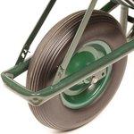 Kruiwagen metaal anti lek wiel