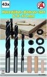 43-delige Houten Pen / Drill Set