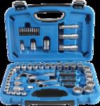 52-delige Gear Lock Go-Thru dop Set, 4,5-25 mm