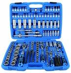 Dopsleutelset Gear Lock 6,3 mm (1/4) / 10 mm (3/8) / 12,5 mm (1/2) 192-delig