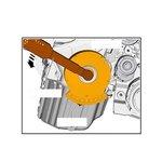 VAG Distributieketting slijtage test set Seat, Skoda