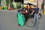 Tank benzine 110 liter atex, pomp 12v, sl + aut. Pistool