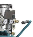 Riemaangedreven olie compressor 2 cil 10 bar - 100 liter