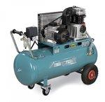 Riemaangedreven olie compressor 10 bar - 100 liter