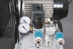 Riemaangedreven olie compressor verzinkte ketel 10 bar - 100 liter