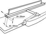 Schaaf- en vandiktebank 310mm