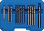 Popnagelboor-set HSS 2.4 - 6.4 mm 15-dlg