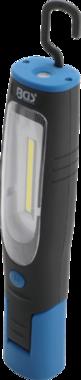 COB-LED werkplaatslamp met magneet en ophanghaak