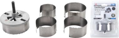 5-delige Gatenzaagset gatenboor 60-95 mm