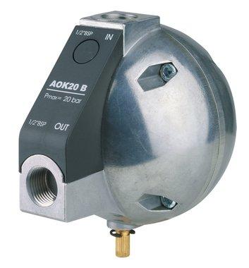Automatische niveaugestuurde condensaftap