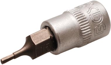 Dopsleutelbit 6,3 mm (1/4) INBUS