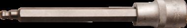Dopsleutelbit lengte 140 mm 12,5 mm (1/2) INBUS met kogelkop