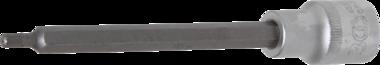 Dopsleutelbit lengte 140 mm 12,5 mm (1/2) veeltand (voor XZN)