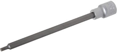 Dopsleutelbit lengte 200 mm 12,5 mm (1/2) veeltand (voor XZN)