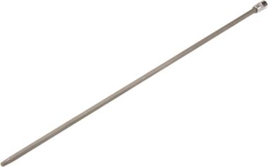Dopsleutelbit lengte 400 mm 6,3 mm (1/4) T-profiel (voor Torx) T30