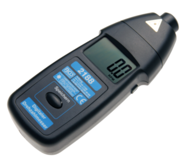 Tachometer, digitale toerenteller