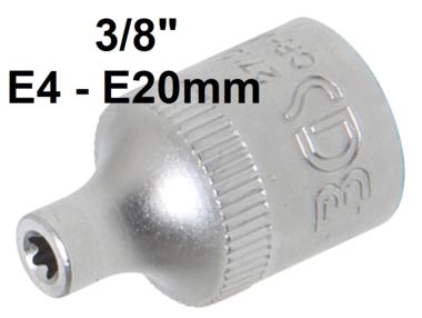 Dopsleutel E-profiel 10 mm (3/8)