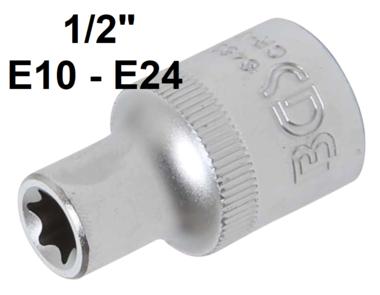 Dopsleutel E-profiel (1/2) E10-E24