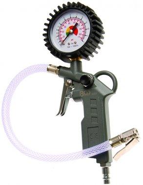 Pistol-Grip luchtinflator 0 - 8 bar