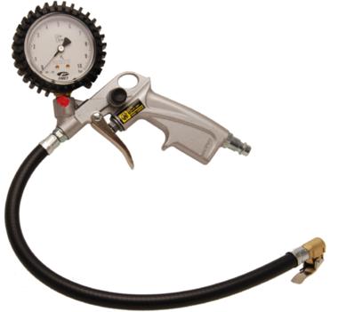 Bandenvulmeter, 0-10bar, 56 mm