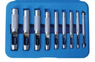 Holpijpen set 3-12 mm 9-delig