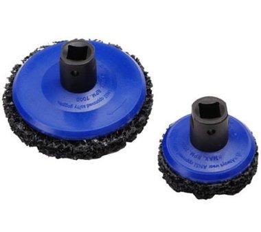 Wielnaaf borstel set 65 mm + diameter 105 mm