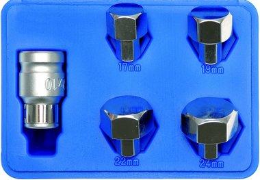 As-verwijderaar 17, 19-22-24 mm